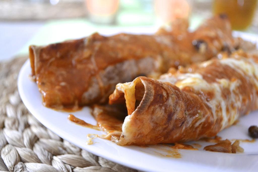 Gooey Enchiladas