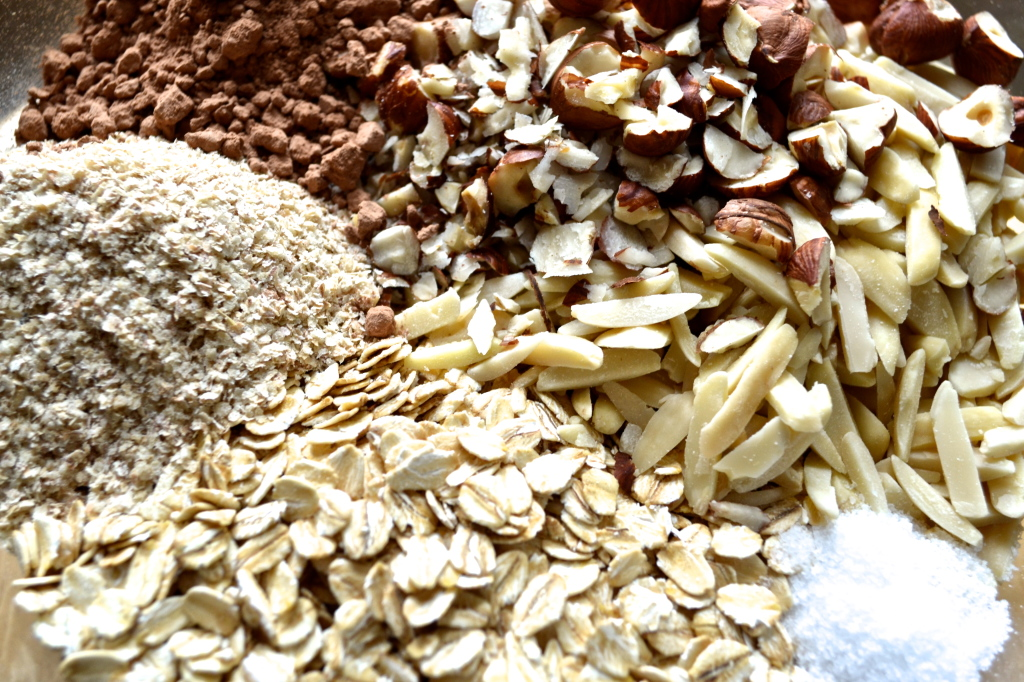 Granola dry ingredients