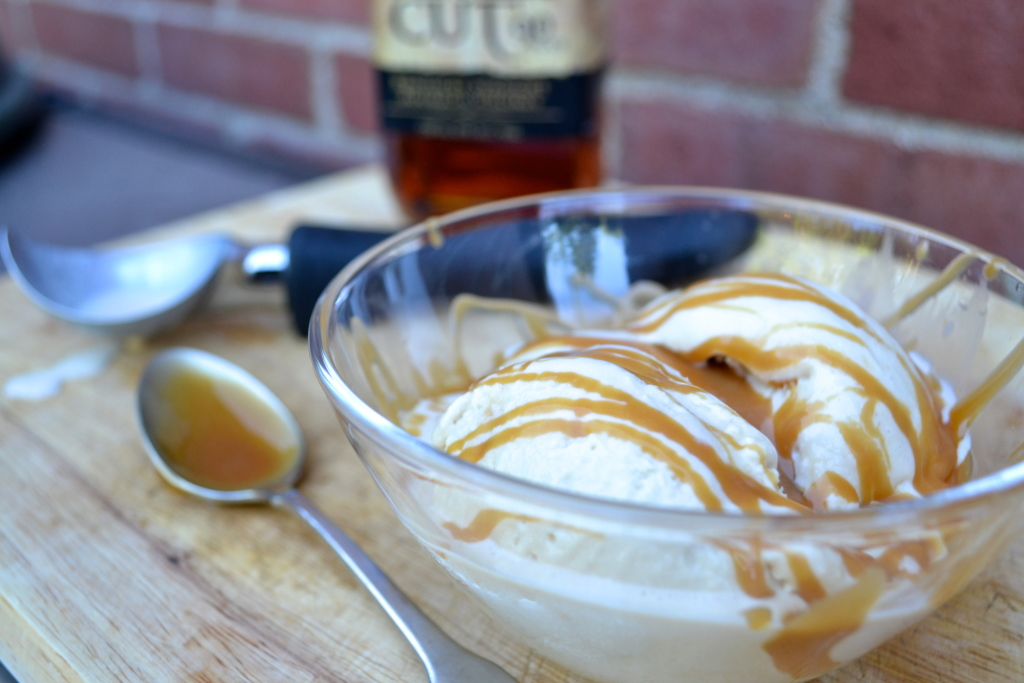 Bourbon Ice Cream