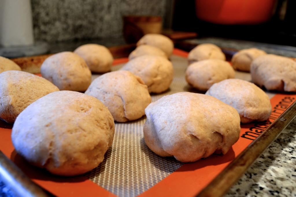 dough on mat